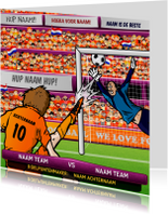 Nederlands Elftal Oranje Voetbal Kaart