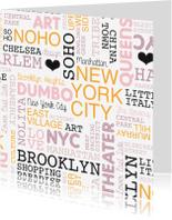 Vakantiekaarten - New York city reizen vakantie