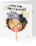 Nieuwjaarskaarten -