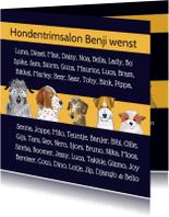 Nieuwjaarskaarten - Nieuwjaar - hondentrimsalon