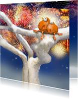 Nieuwjaarskaarten - Nieuwjaar met Ptie Foe!