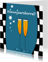 Uitnodigingen - Nieuwjaarsborrel l