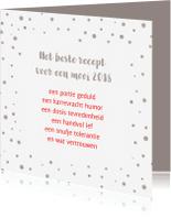 Nieuwjaarskaarten - Nieuwjaarskaart beste recept