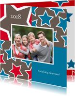 Nieuwjaarskaarten - Nieuwjaarskaart foto en sterren 14
