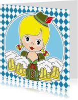 Wenskaarten divers - Oktoberfest