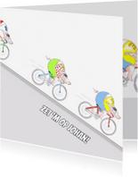 Wenskaarten divers - Op de racefiets