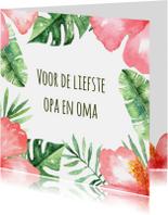 Opa & Omadag kaarten - Opa en Omadag-kaart Tropical - WW