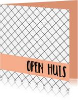 Uitnodigingen - Open huis kaart - WW