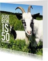 Verjaardagskaarten - oude bok  van 50