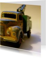 Verjaardagskaarten - oude dinky toy