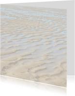 Rouwkaarten - Overlijdensbericht 'strand'