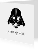 Vaderdag kaarten - pap je bent mijn vader