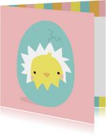 Paaskaarten - Pasen Kuikens