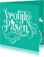 Paaskaarten - Pasen Sierlijk