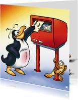 Zomaar kaarten - penguins zomaar 1 postbus