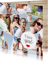 Polaroid Foto collage Valentijn