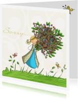 Sorry kaarten - Prachtige bos bloemen