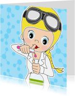 Kinderkaarten - Raar maar waar, laboratorium