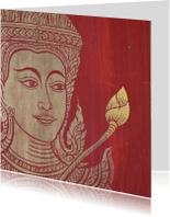Religie kaarten - Religie kaart Boeddha -LB