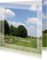 Rouwkaarten - rouwkaart natuur