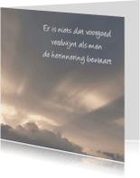Rouwkaarten - Rouwkaart wolken - SK