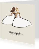 Trouwkaarten - samen is het fijn