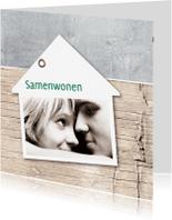 Verhuiskaarten - Samenwonen Thijs en Rianne