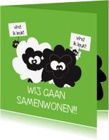 Verhuiskaarten - Samenwonenkaart - vind ik leuk! Van Mo Cards