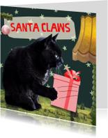 Kerstkaarten - Santa Claws