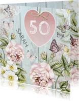 Verjaardagskaarten - Sarah Van Harte vintage