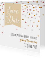 Trouwkaarten - Save the date - Dots - HB