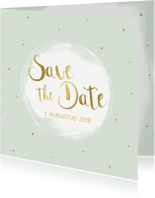 Trouwkaarten - Save the date kaart - WW