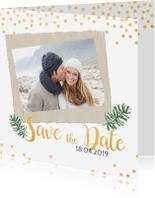 Trouwkaarten - Save the date kerstkaart
