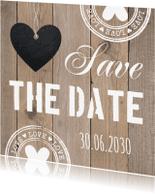 Trouwkaarten - Save the Date LB01