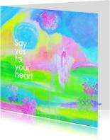 Coachingskaarten - Say yes to your heart