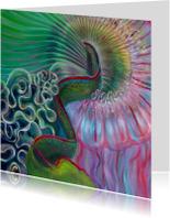 Kunstkaarten - Schilderij Novia Medusa