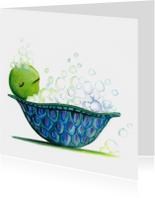 Zomaar kaarten - Schildpadbad2