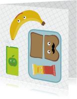 Succes kaarten - School-Happy Lunchbox!-HK
