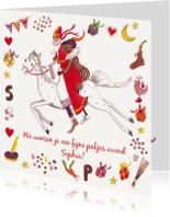 Sinterklaaskaarten - Sint en Piet en Amerigo Cartita Design