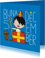 Sinterklaaskaarten - Sinterklaas bijna 5 december