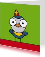 Sinterklaaskaarten - Sinterklaas pimpelmees