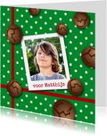Sinterklaaskaart pepernoot gr-HR