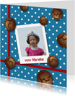 Sinterklaaskaart pepernoten b-HR