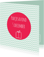Sinterklaaskaarten - Sintkaartje Pakjesavond - WW