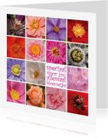Bloemenkaarten - Speciaal voor jou allemaal bloemetjes 4K