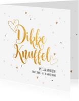 Zomaar kaarten - Speciaal voor jou een knuffel