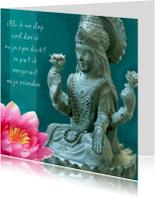 Religie kaarten - Spirituele kaart Boeddha Tara 2