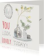 Spreukenkaarten - Spreuk Lovely