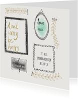 Spreukenkaarten - Spreukenkaart  Don't Worry