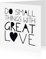 Spreukenkaarten - Spreukenkaart great love